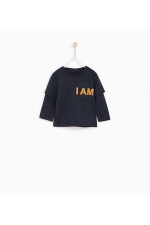 Zara T-SHIRT MET DUBBELE MOUWEN - In meer kleuren beschikbaar