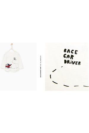 Zara T-SHIRT 'RACING' - In meer kleuren beschikbaar