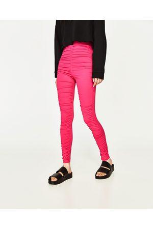 Dames Leggings & Treggings - Zara GEDRAPEERDE LEGGING - In meer kleuren beschikbaar