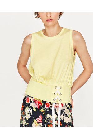 Dames Korsetten - Zara T-SHIRT MET KORSET - In meer kleuren beschikbaar