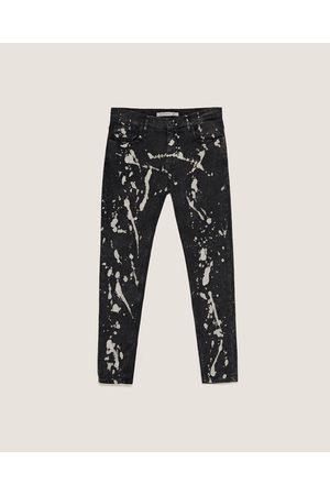 Zara SKINNY BROEK MET BLEEKEFFECT - In meer kleuren beschikbaar