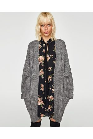 Zara OVERSIZED WOLLEN VEST - In meer kleuren beschikbaar