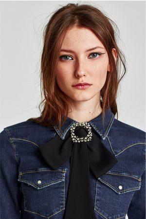 Zara KETTING MET STRIK EN BROCHE - In meer kleuren beschikbaar