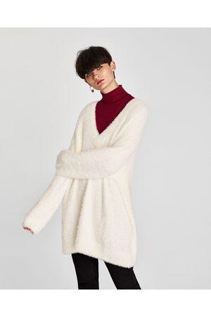 Zara OVERSIZED TRUI MET TEXTUUR - In meer kleuren beschikbaar