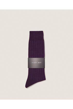 Zara RIBSOKKEN - In meer kleuren beschikbaar