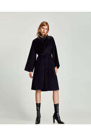 Zwarte Lange Jas Zara GUO88 TLYP