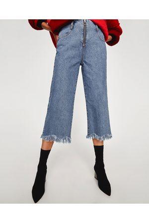Zara CULOTTE-JEANS MET HOGE TAILLE - In meer kleuren beschikbaar