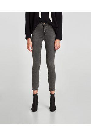 Zara HIGH WAIST JEANS - In meer kleuren beschikbaar