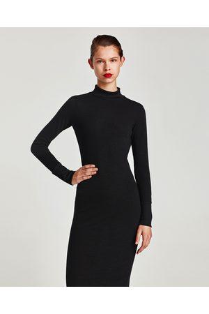tricot maxi jurk