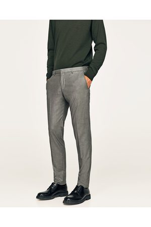 Zara COMFORTABELE GRIJZE KOSTUUMBROEK - In meer kleuren beschikbaar