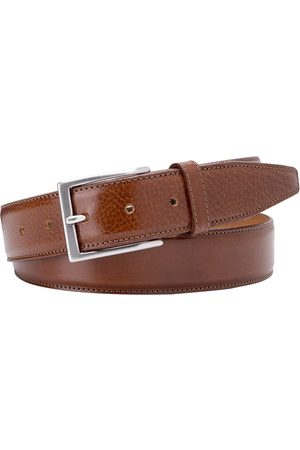 Heren Riemen - Profuomo Riem whiskey brown calf leather