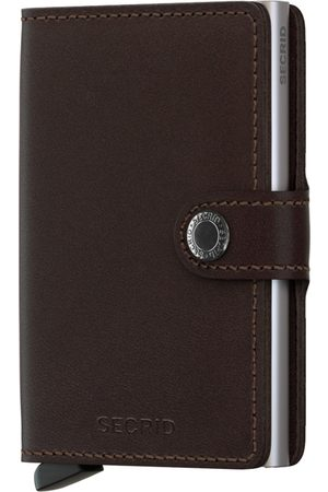 Heren Portemonnees - Secrid Miniwallet Original Dark Brown