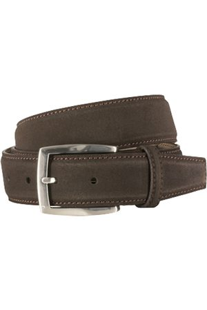 Riem suede dark brown