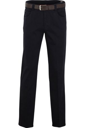 Heren pantalons - Meyer Pantalon marineblauw model Diego