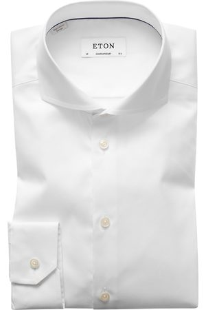 Heren zakelijke overhemden - Eton Dress shirt white Contemporary