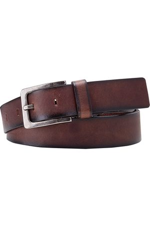 Herenriemen - Profuomo Riem leder handpolish brown