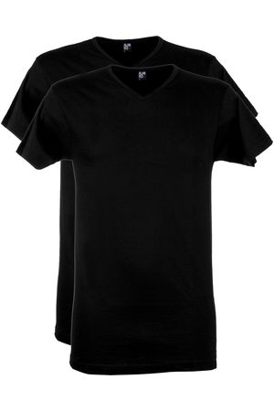 Heren - Alan Red T-shirt zwart v-hals 2-pack