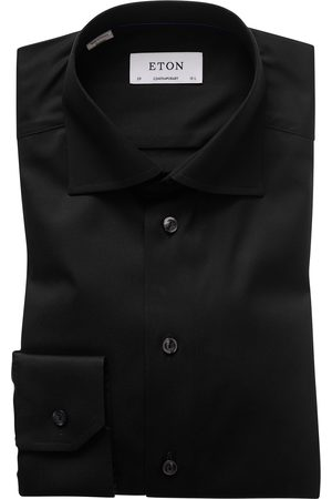 Heren zakelijke overhemden - Eton Dress shirt black Contemporary
