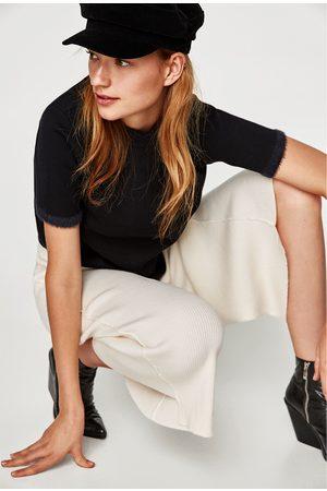 Zara CULOTTE-BROEK MET ASYMMETRISCHE PIJPEN - In meer kleuren beschikbaar