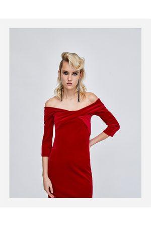 Zara FLUWELEN KOKERJURK - In meer kleuren beschikbaar