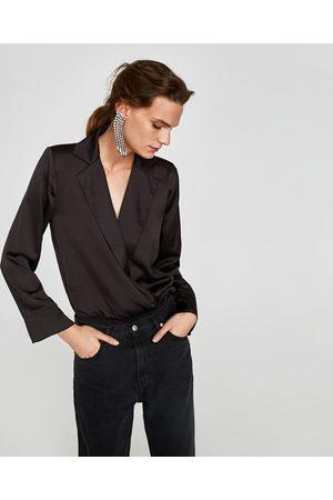 Zara BODY MET REVERSKRAAG - In meer kleuren beschikbaar