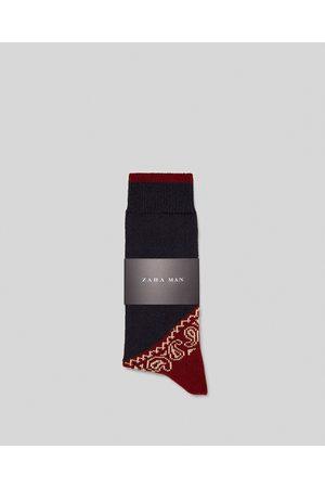Zara SOKKEN MET BANDANAPRINT - In meer kleuren beschikbaar
