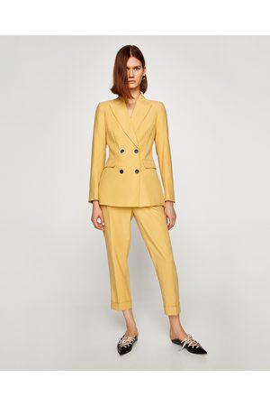 Zara DOUBLE-BREASTED JASJE UIT DE CASUAL SUIT-COLLECTIE - In meer kleuren beschikbaar