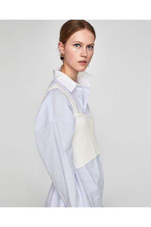 Zara BRALETTE VAN RIBSTOF - In meer kleuren beschikbaar