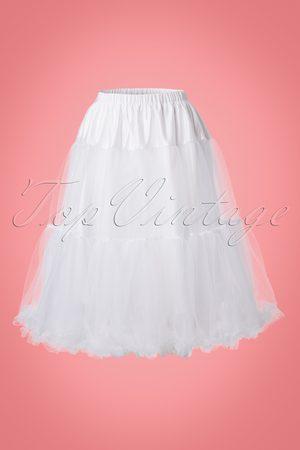 Bunny 50s Polly Petticoat in White