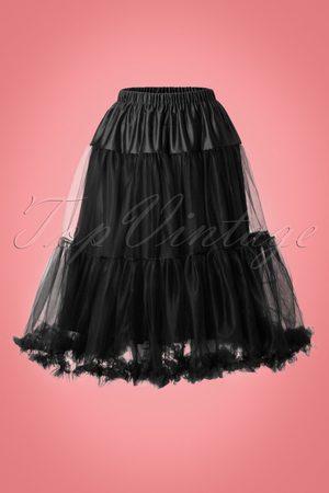 Bunny 50s Polly Petticoat in Black