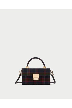 Zara STEVIGE CLUTCH MET PRINT