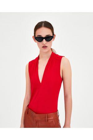 Zara BODY MET V-HALS - In meer kleuren beschikbaar