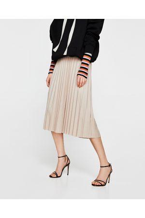 Zara PLISSÉROK IN SUÈDE LOOK - In meer kleuren beschikbaar