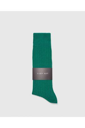 Zara EFFEN RIBSOKKEN - In meer kleuren beschikbaar