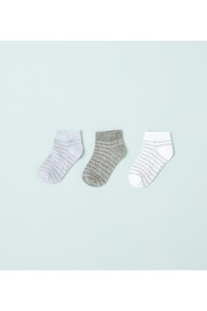 Zara SET VAN DRIE PAAR GESTREEPTE SOKKEN - In meer kleuren beschikbaar