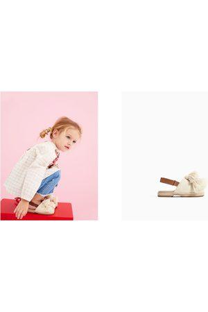 Zara LINED FABRIC CLOGS