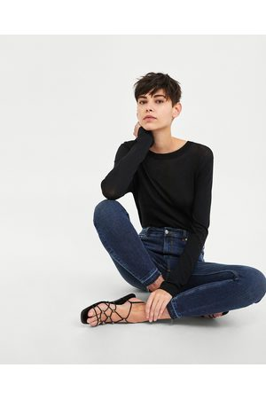 Zara JEANS HIGH WAIST IN MIDNIGHT BLUE