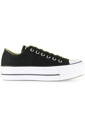 Converse Dames Sneakers - Platform Canvas CT AS Low Top Black/White/Black