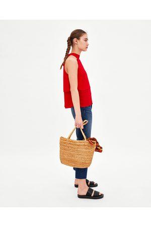 Zara SOEPELVALLENDE HALTERTOP - In meer kleuren beschikbaar