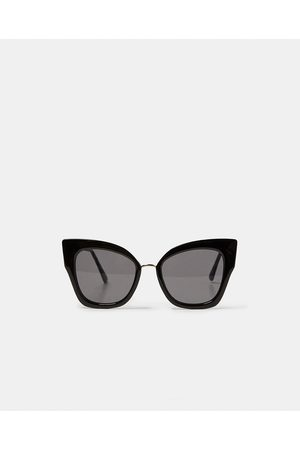 Zara OVERSIZED CAT-EYE ZONNEBRIL