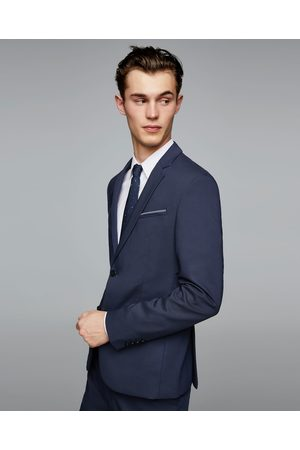 Zara STRUCTURED TECHNICAL SUIT BLAZER