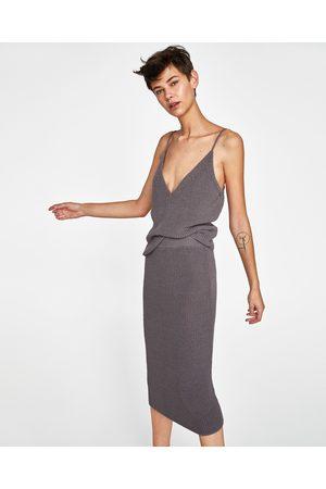 Zara TRICOT KOKERROK - In meer kleuren beschikbaar
