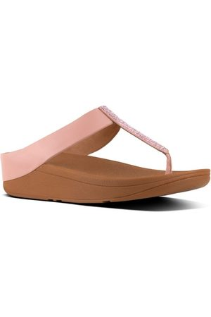 FitFlop TM Fino Crystal Toe Thong