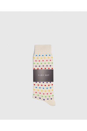 Zara SOKKEN MET KLEURRIJKE STIPPEN - In meer kleuren beschikbaar