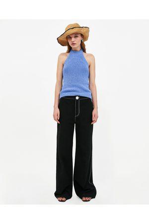 Zara HALTERTOP - In meer kleuren beschikbaar
