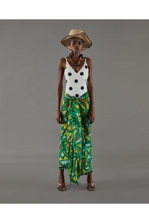 Zara PAREO MET AFRIKAANSE PRINT - In meer kleuren beschikbaar