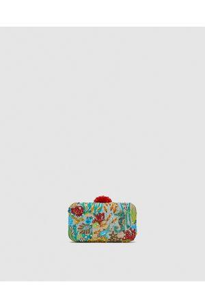 Zara Dames Clutches - CLUTCH MET KRALEN