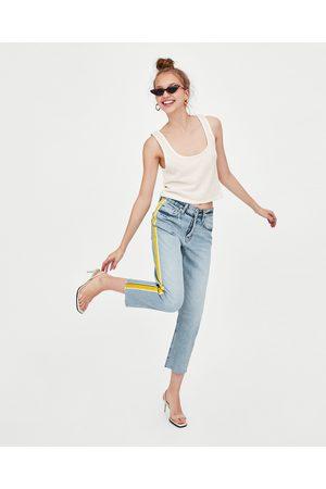 Zara JEANS HI-RISE STRAIGHT LEG AUTHENTIC