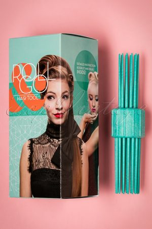 lauren rennells Vintage Hairstyling: RollGo Pin Curl Hair Tool Set