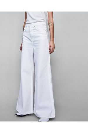 Zara Dames High waisted - JEANS VINTAGE HIGH WAIST FLARE